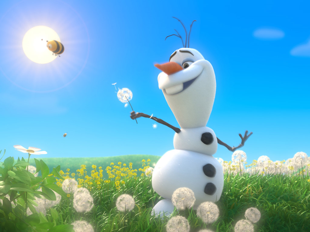 Cartoons Wallpaper: Frozen - Olaf