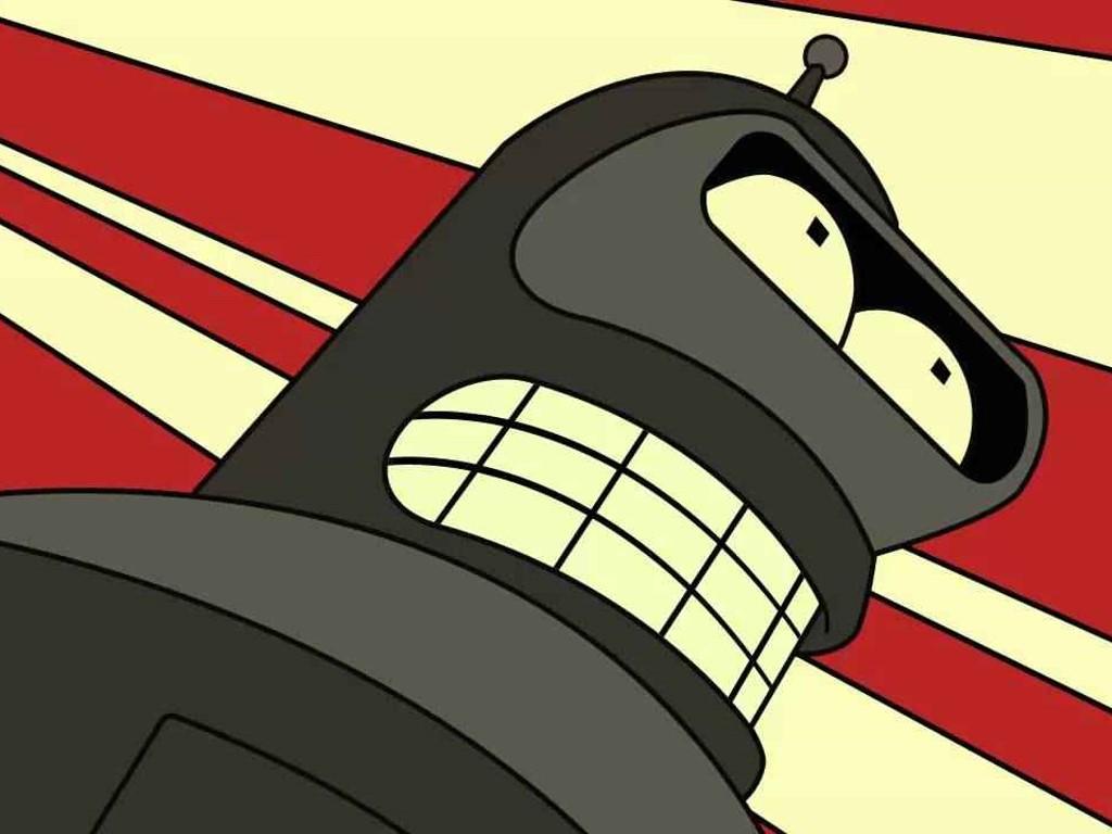 Cartoons Wallpaper: Futurama - Bender