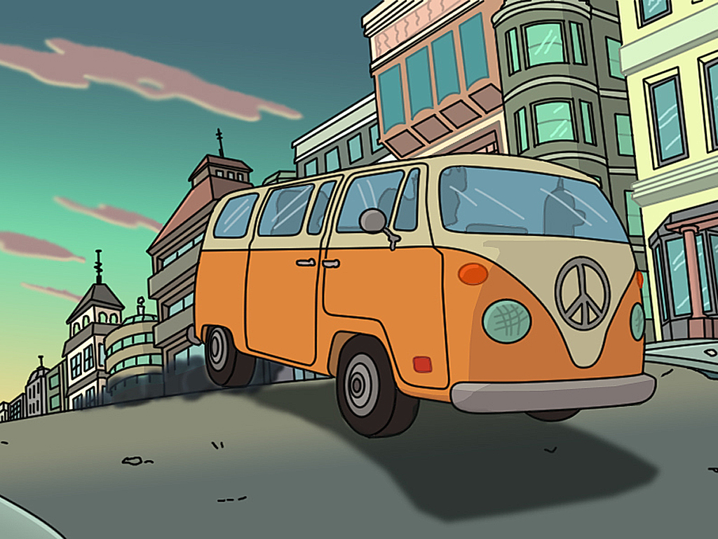 Cartoons Wallpaper: Futurama