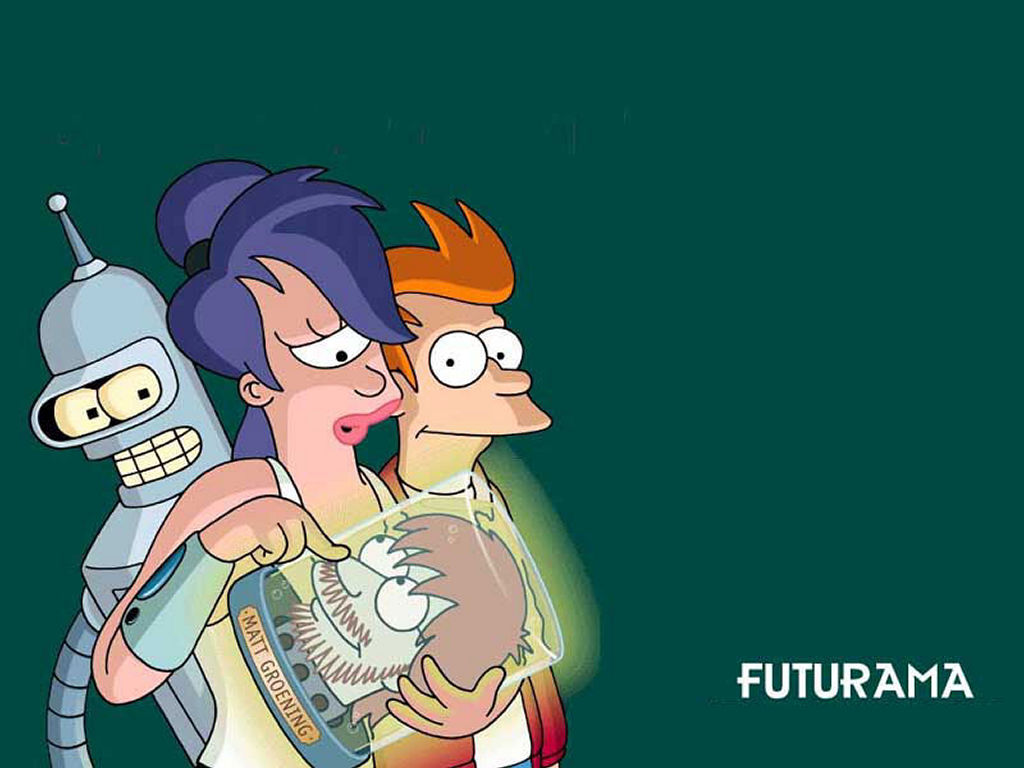 Cartoons Wallpaper: Futurama