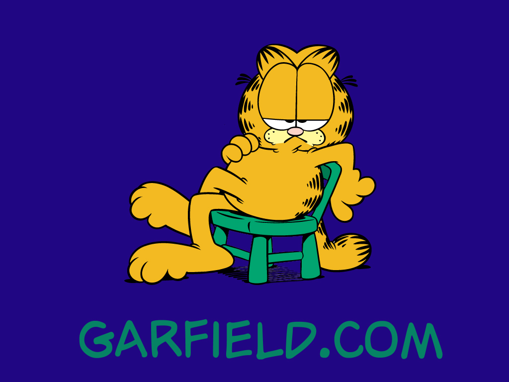 Cartoons Wallpaper: Garfield
