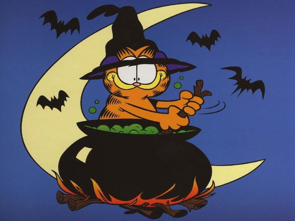 Cartoons Wallpaper: Garfield - Halloween