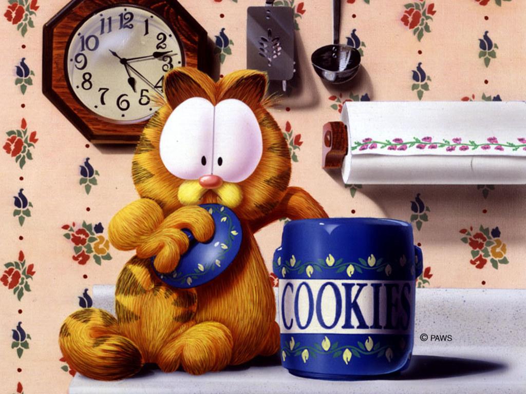 Cartoons Wallpaper: Garfield