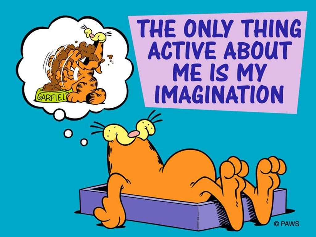 Papel de Parede Gratuito de Desenhos : Garfield