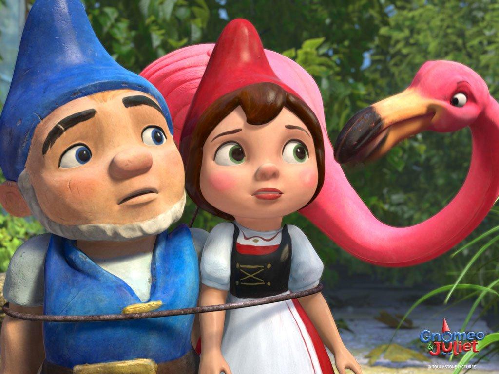 Cartoons Wallpaper: Gnomeo and Juliet