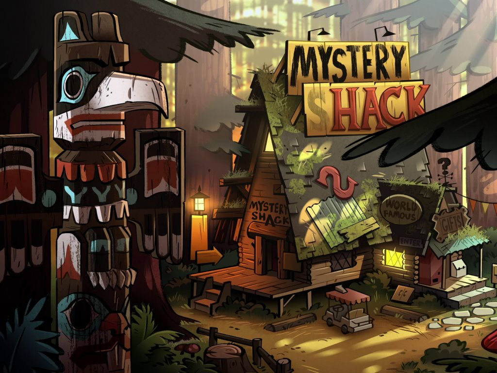 Cartoons Wallpaper: Gravity Falls