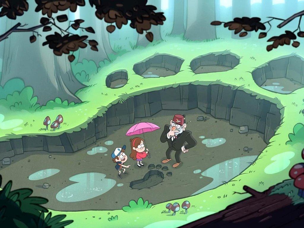 Cartoons Wallpaper: Gravity Falls