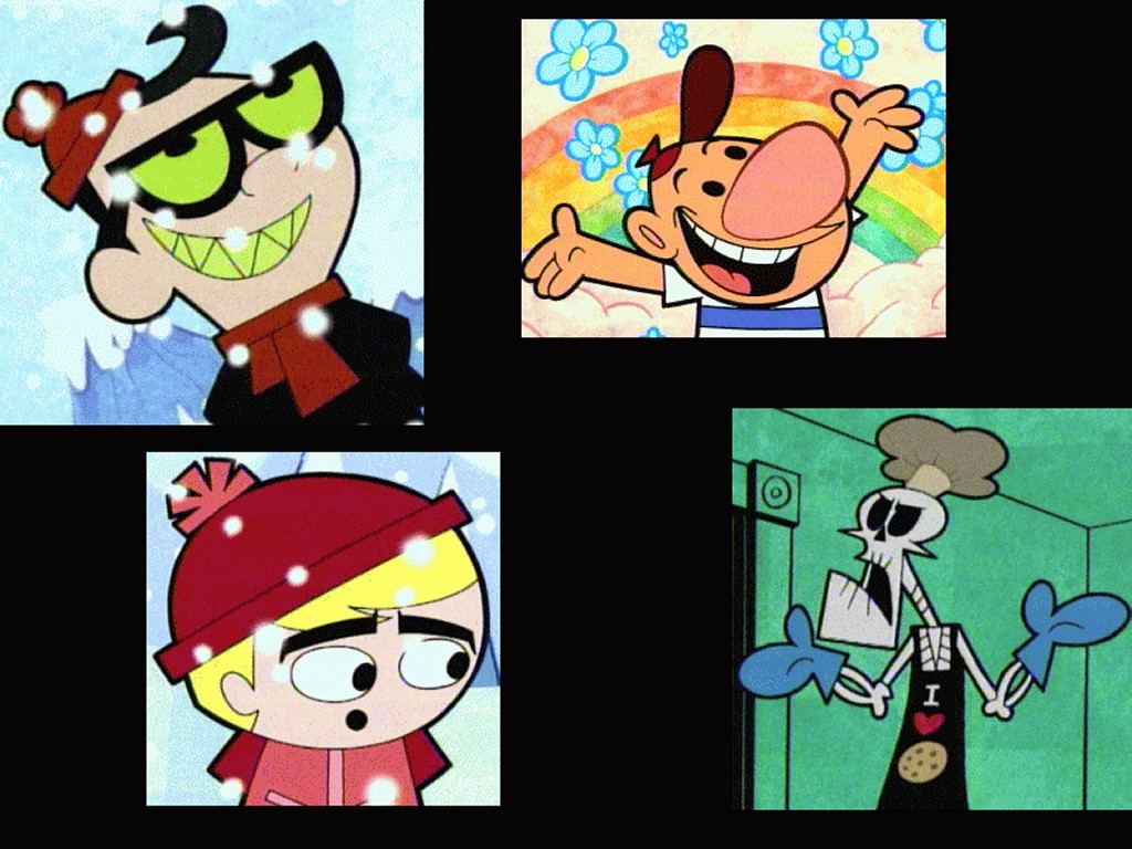 Cartoons Wallpaper: Grim Adventures of Billy and Mandy