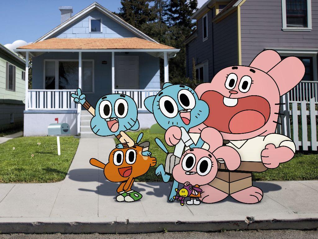 Cartoons Wallpaper: The Amazing World of Gumball