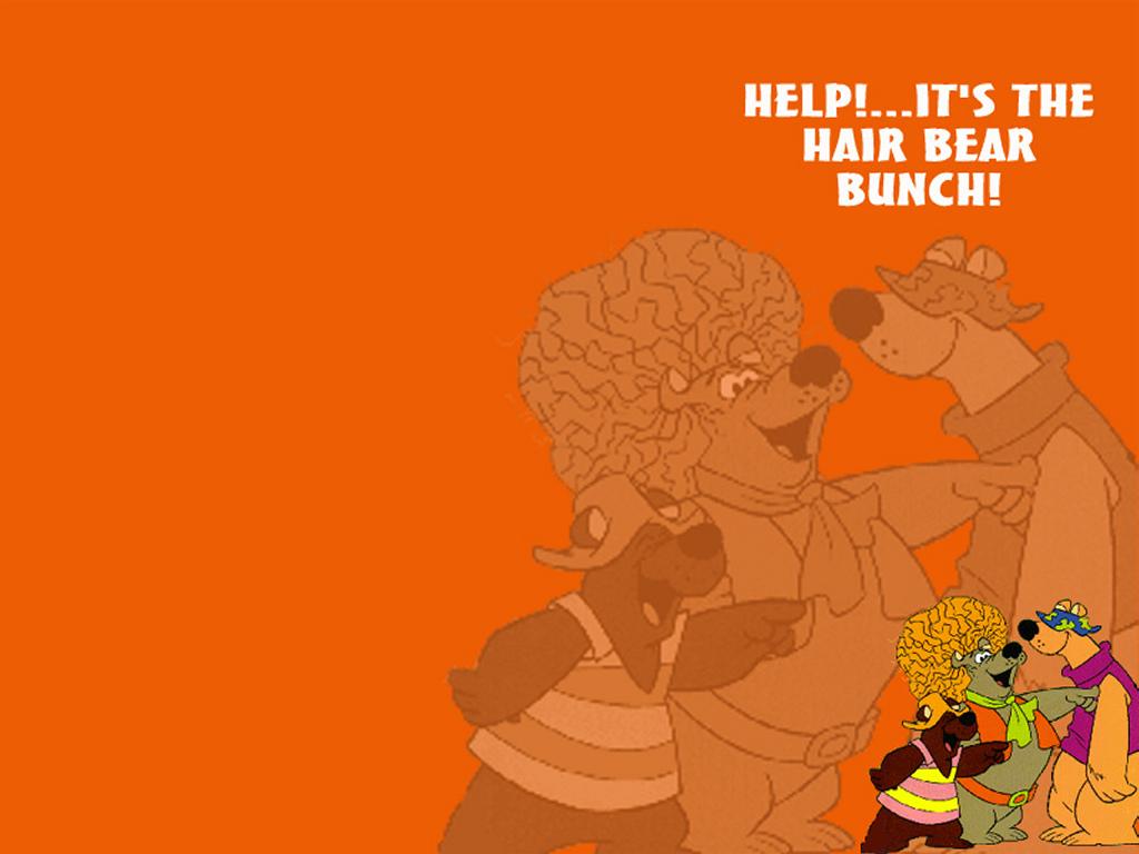 Cartoons Wallpaper: Hair Bear Bunch