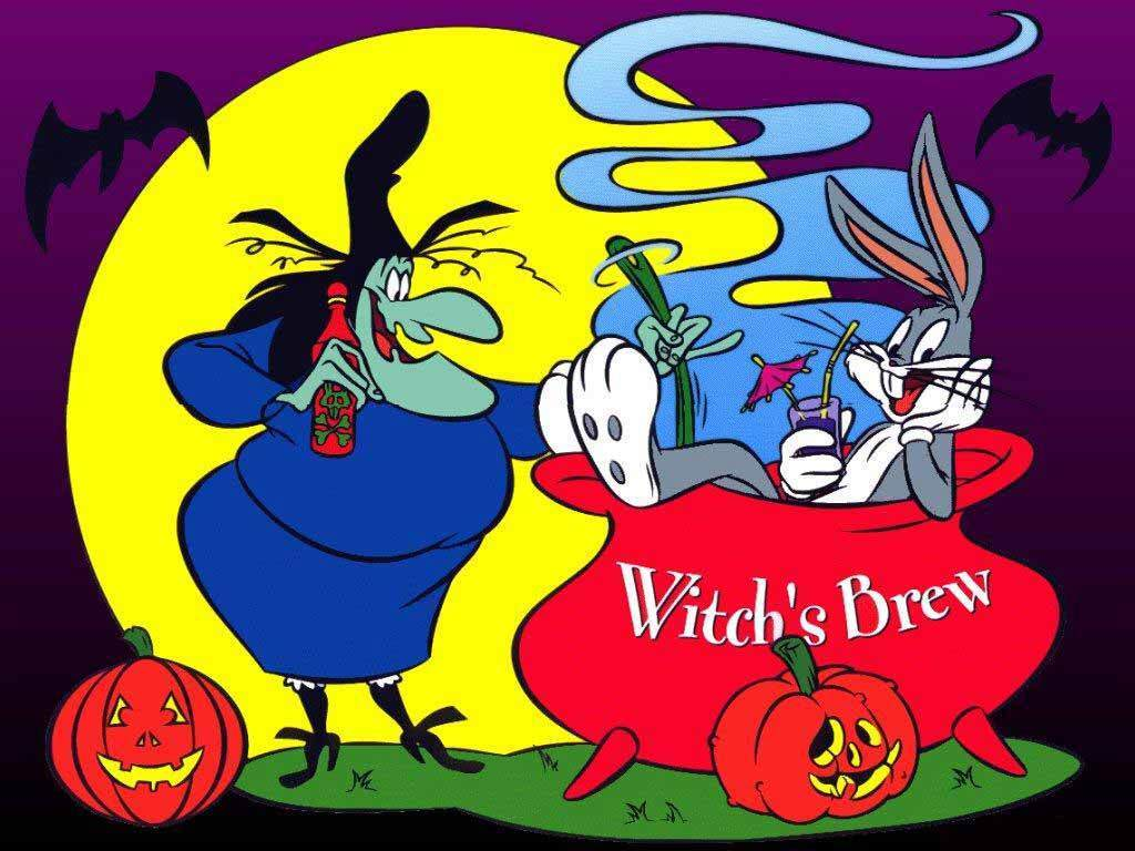 Cartoons Wallpaper: Bugs Bunny - Halloween