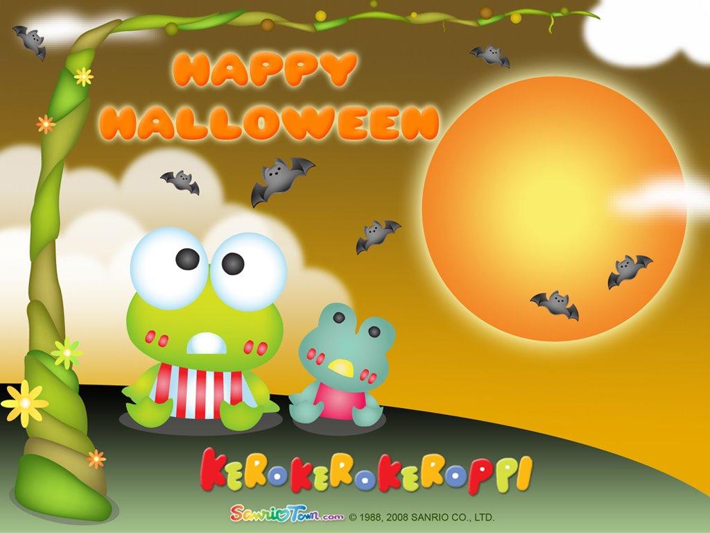 Cartoons Wallpaper: Halloween - Kero Kero Keroppi