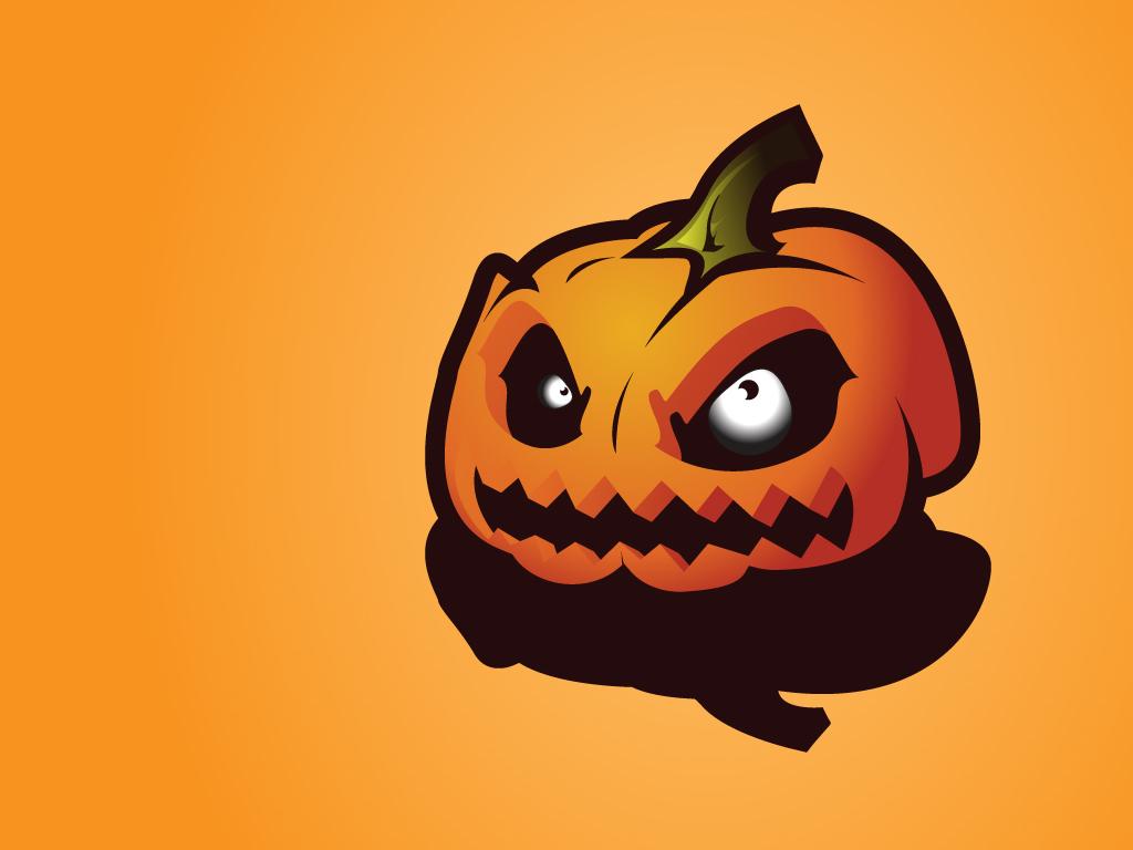 Cartoons Wallpaper: Halloween - Pumpkin