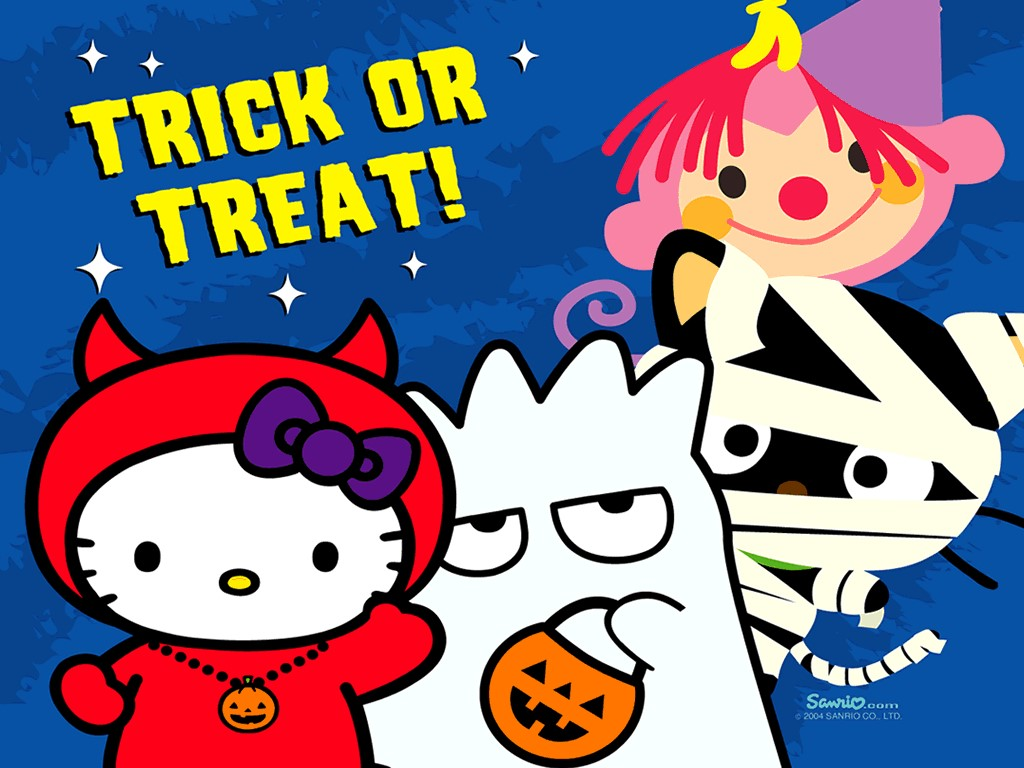 Cartoons Wallpaper: Halloween - Trick or Treat