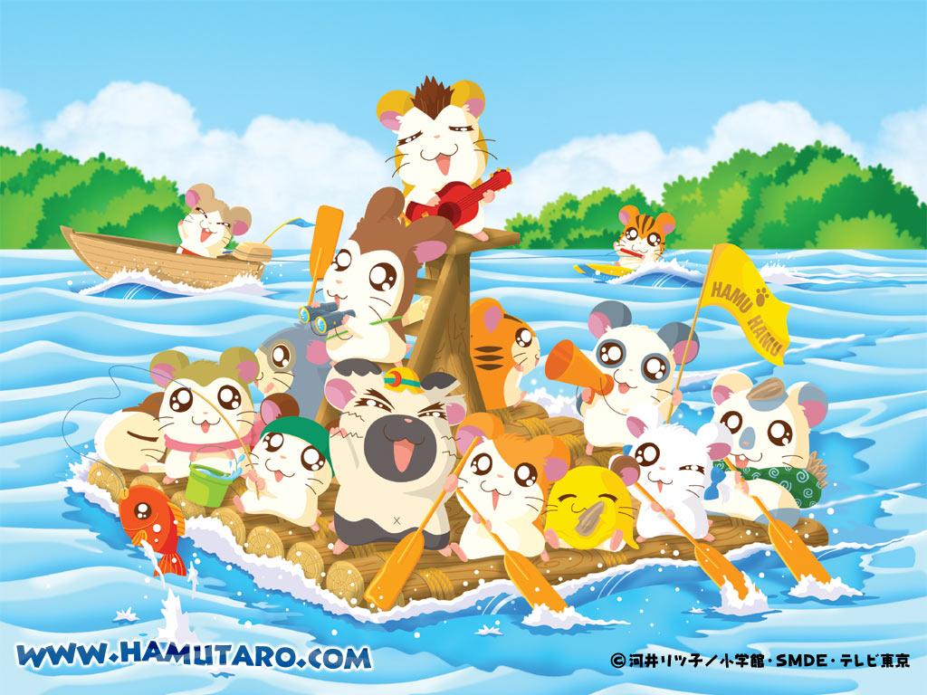 Cartoons Wallpaper: Hamutaro