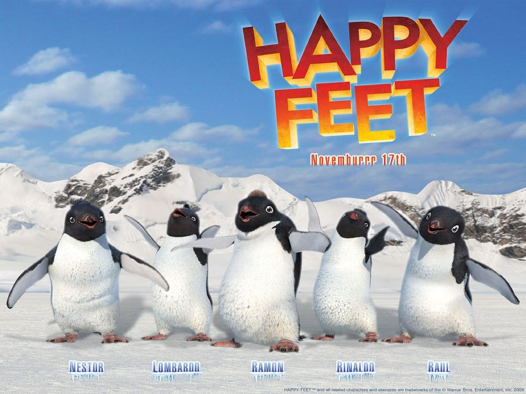 Cartoons Wallpaper: Happy Feet