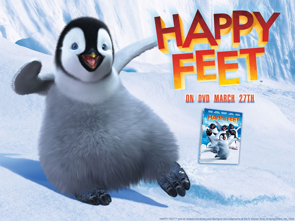 Cartoons Wallpaper: Happy Feet