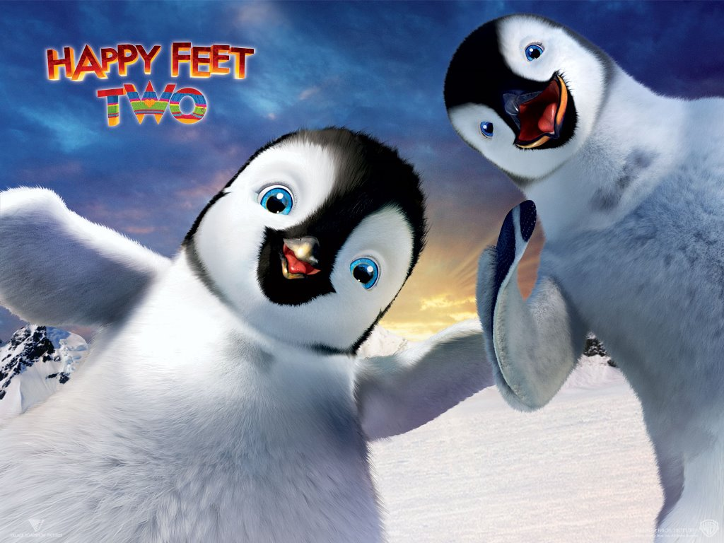 Cartoons Wallpaper: Happy Feet Two