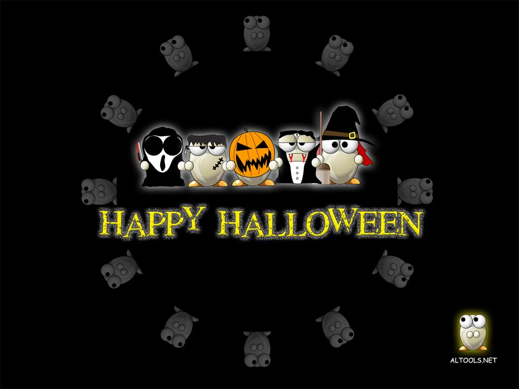 Cartoons Wallpaper: Happy Halloween
