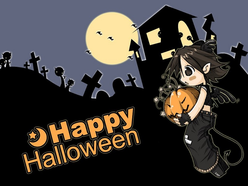 Cartoons Wallpaper: Happy Halloween!