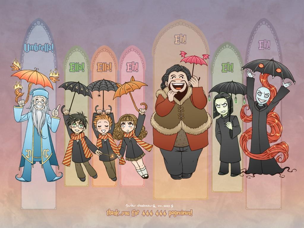 Cartoons Wallpaper: Harry Potter