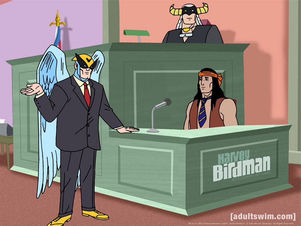 Cartoons Wallpaper: Harvey Birdman Attorney at Law