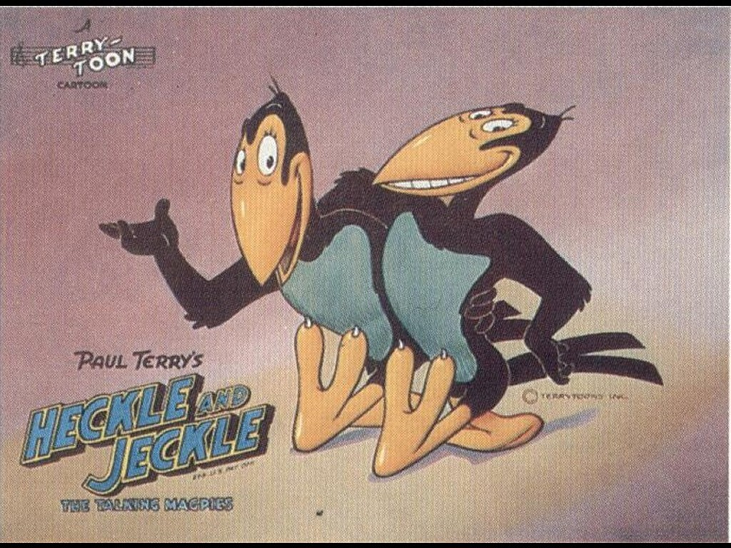 Cartoons Wallpaper: Heckle and Jeckle