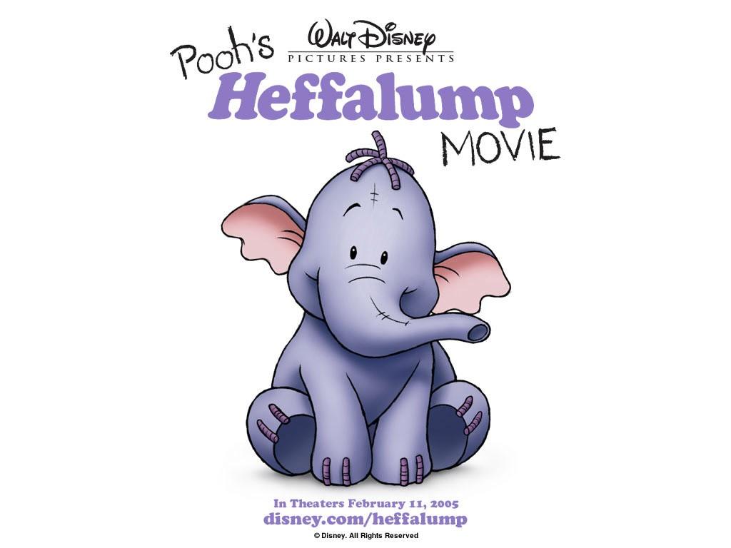 Cartoons Wallpaper: Heffalump - The Movie