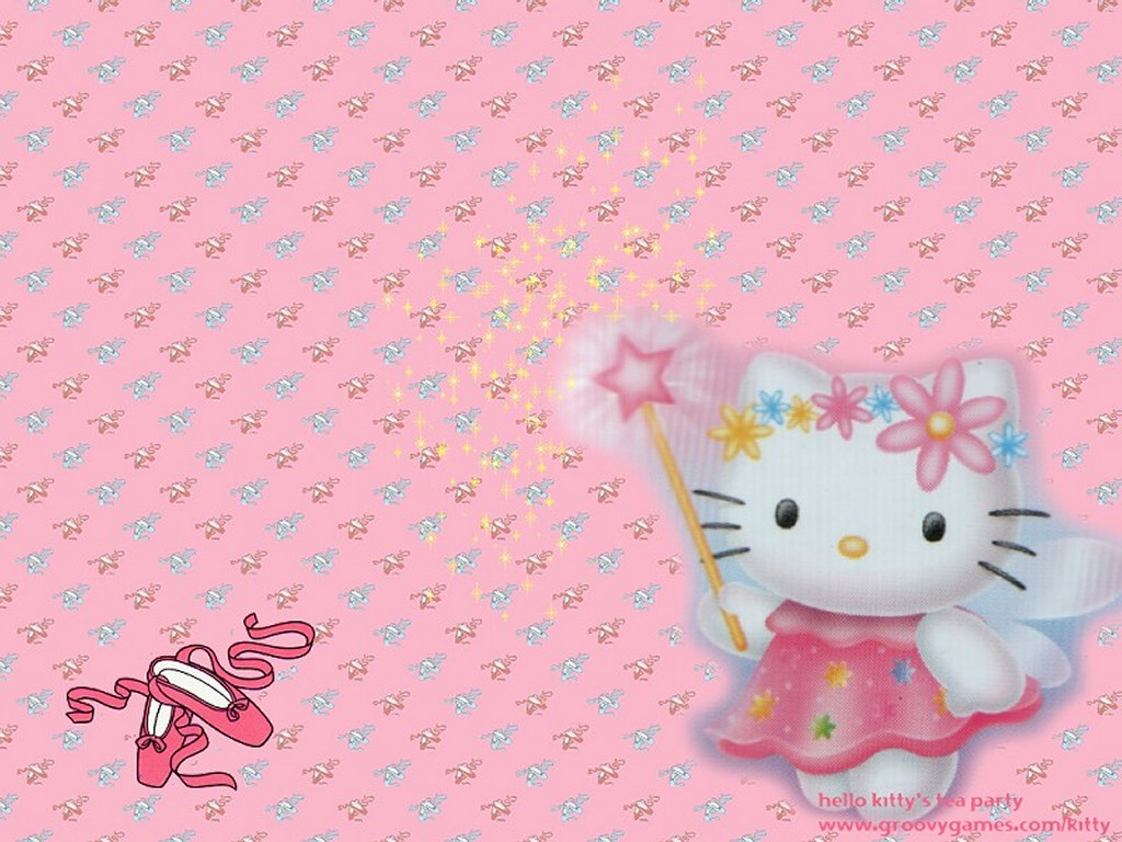 Cartoons Wallpaper: Hello Kitty - Faery