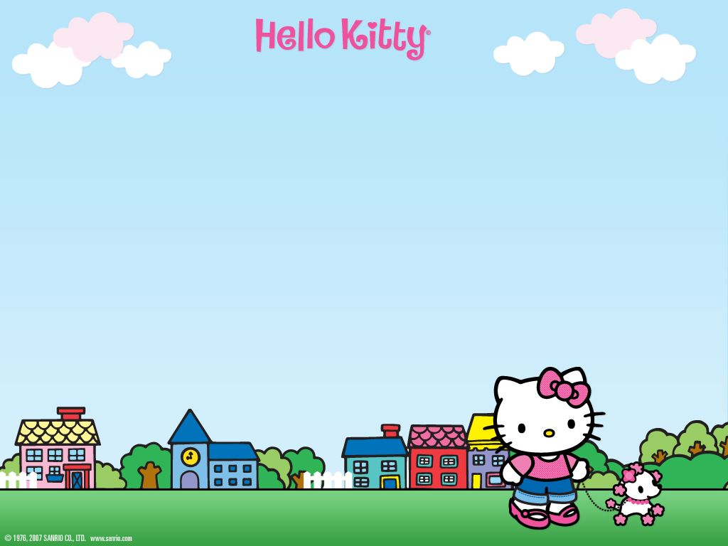 Cartoons Wallpaper: Hello Kitty