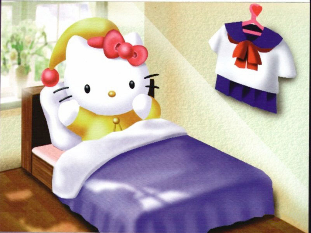 Cartoons Wallpaper: Hello Kitty