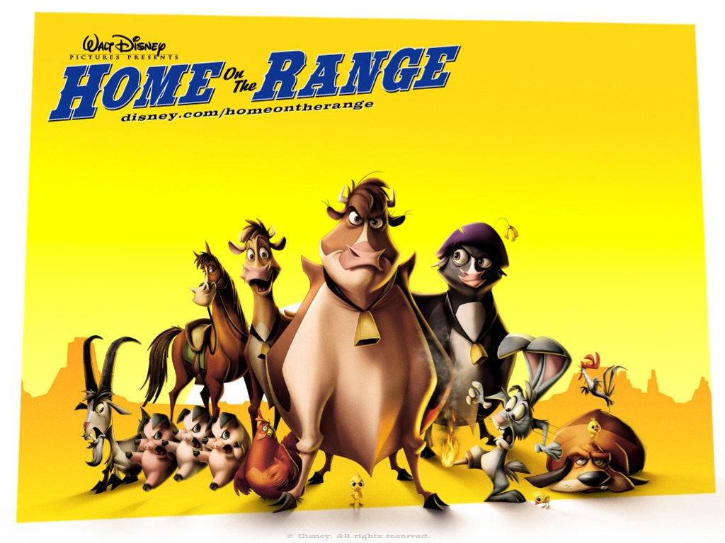 Cartoons Wallpaper: Home on the Range