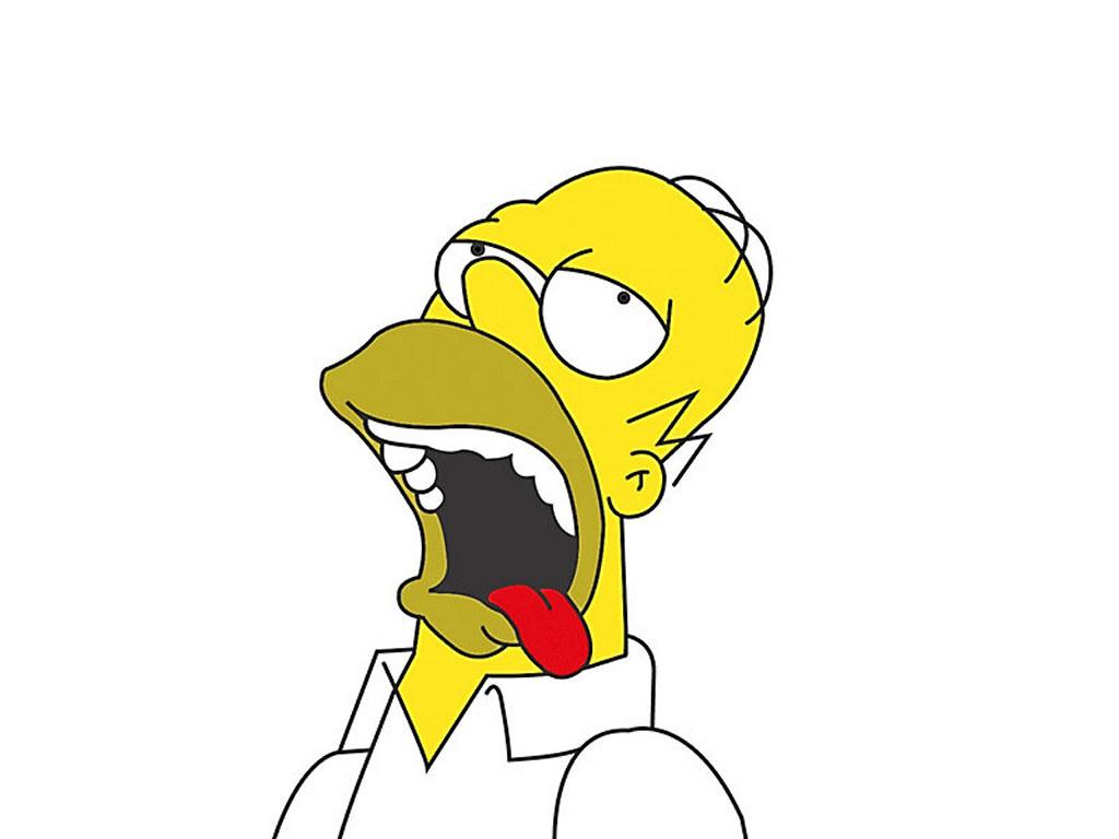 Cartoons Wallpaper: Homer Simpson