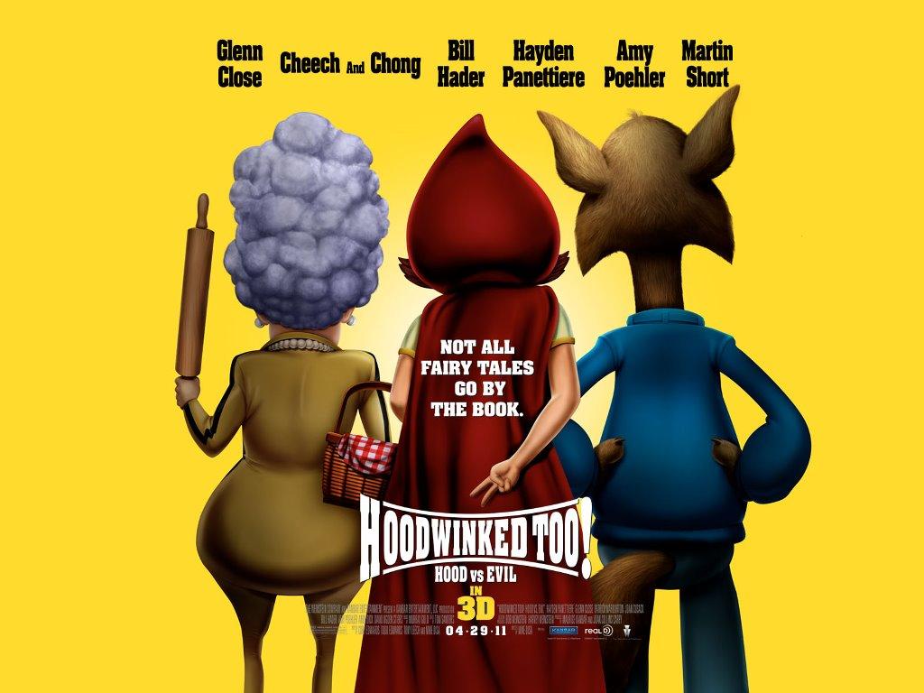 Cartoons Wallpaper: Hoodwinked Too 3D