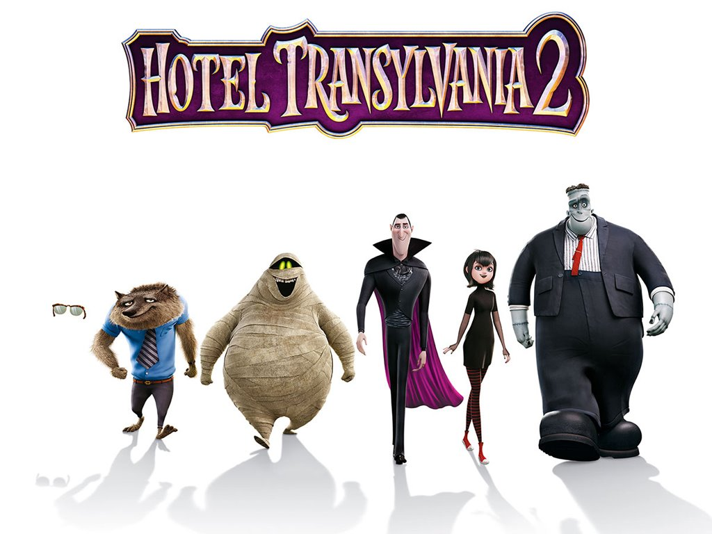 Cartoons Wallpaper: Hotel Transylvania 2