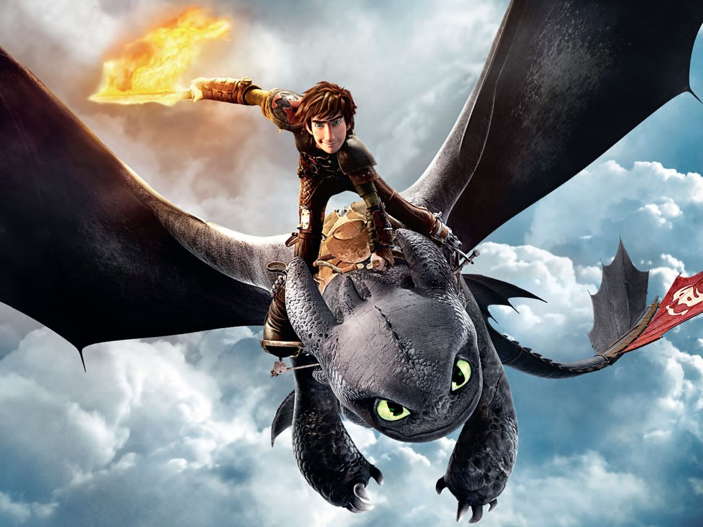 Cartoons Wallpaper: How To Train Your Dragon 2