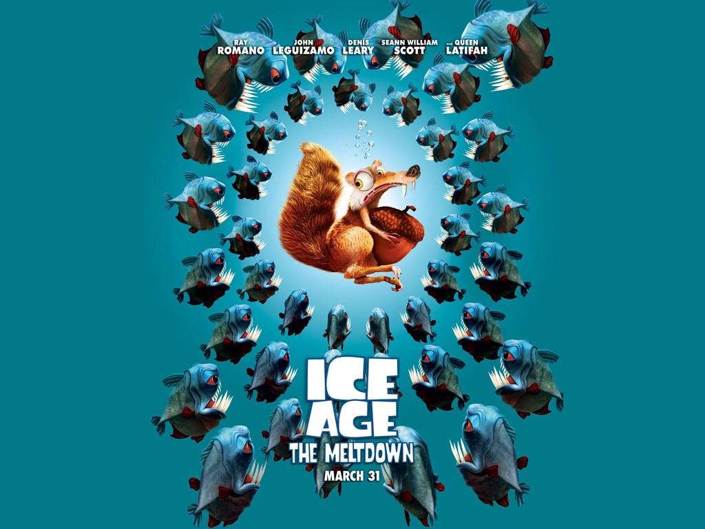 Cartoons Wallpaper: Ice Age - The Meltdown