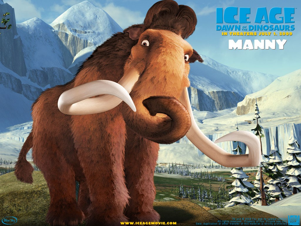 Cartoons Wallpaper: Ice Age 3 - Dawn of Dinosaurs