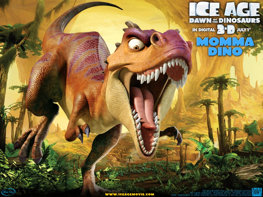 Cartoons Wallpaper: Ice Age 3