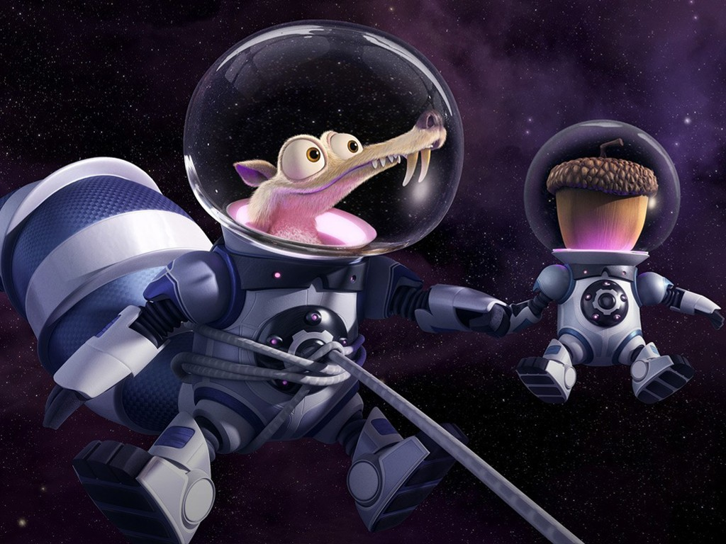 Cartoons Wallpaper: Ice Age - Collision Course