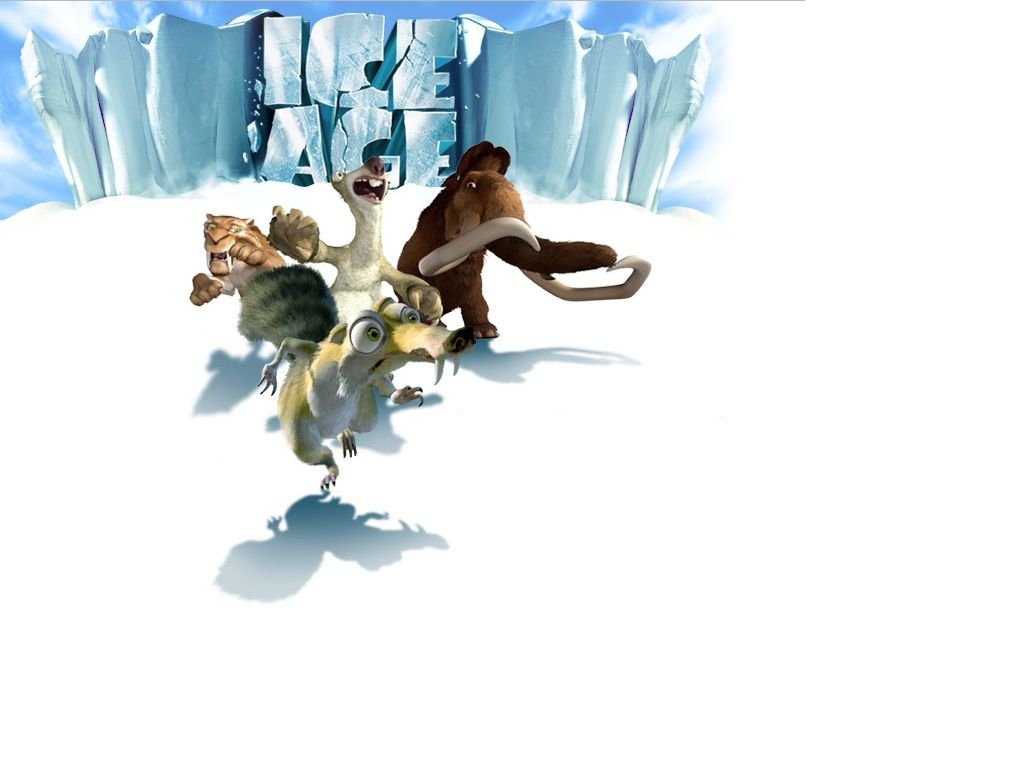 Cartoons Wallpaper: Ice Age