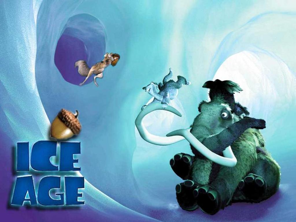 Cartoons Wallpaper: Ice Age is Coming