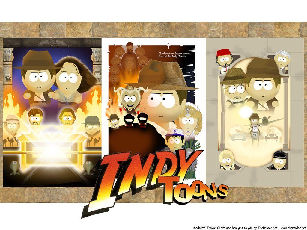 Cartoons Wallpaper: Indiana Jones - Cartoon