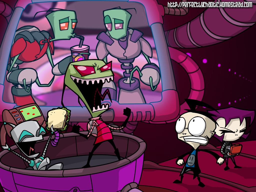 Cartoons Wallpaper: Invader Zim