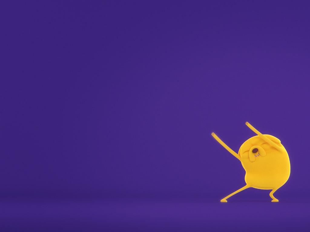 Cartoons Wallpaper: Adventure Time - Jake