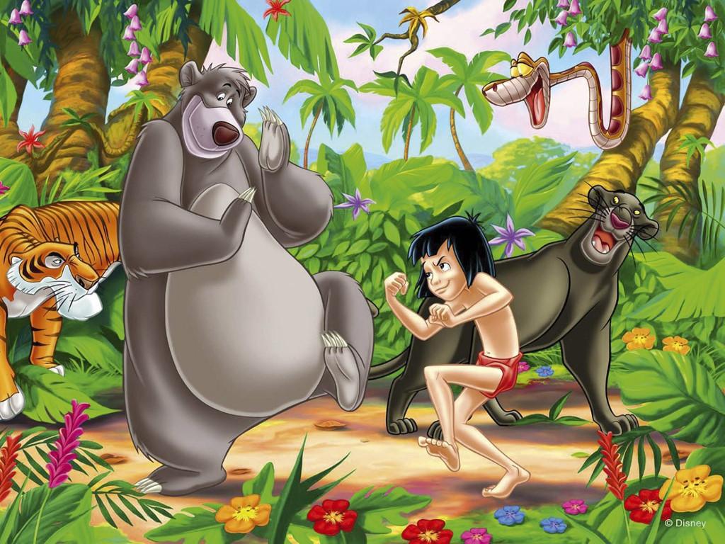 Cartoons Wallpaper: Jungle Book