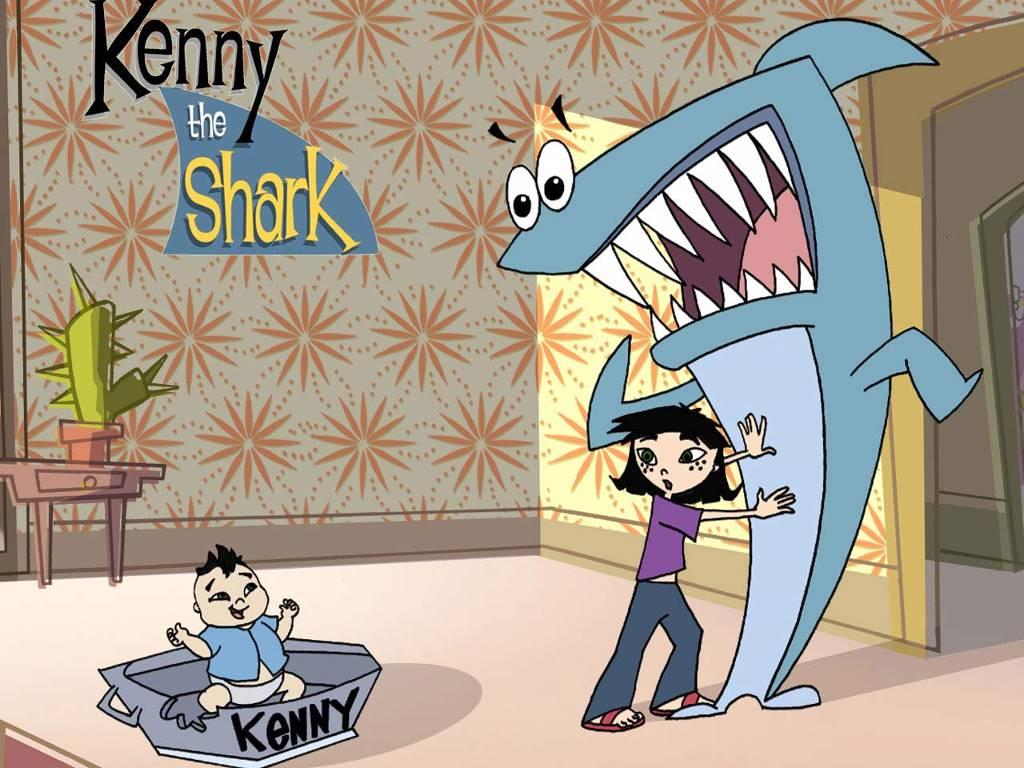 Cartoons Wallpaper: Kenny the Shark
