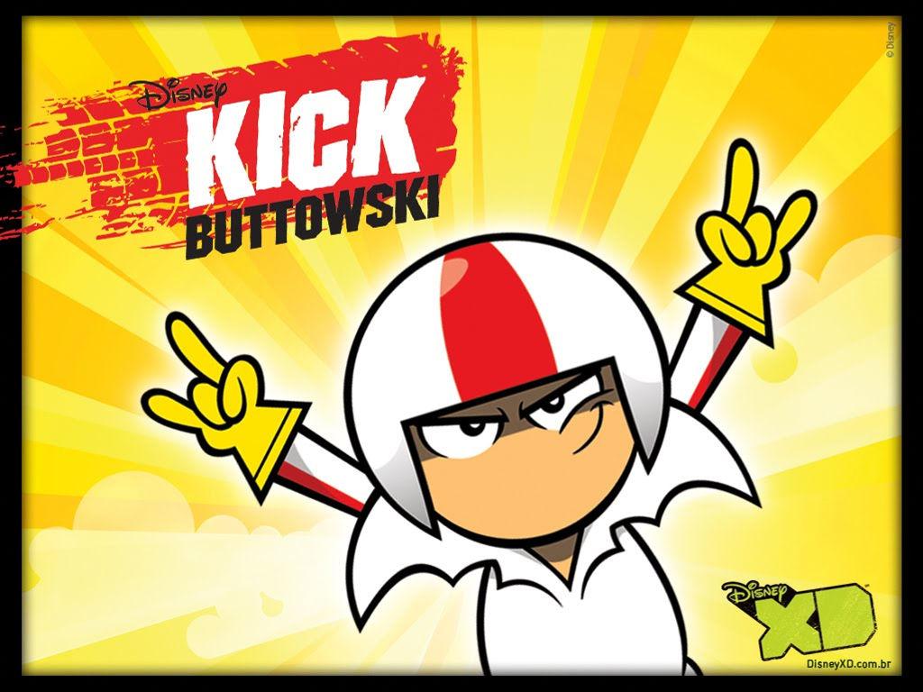 Cartoons Wallpaper: Kick Buttowski