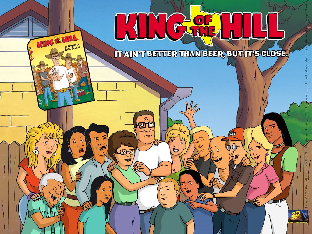Cartoons Wallpaper: King of the Hill