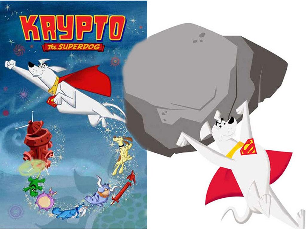 Cartoons Wallpaper: Krypto